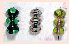 Indian Lustre Glass Beads