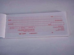 Banking Dummy Cheque Book For Mathematics Kit