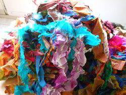 Multicolored Sari Silk Ribbons For Jewelry Designers