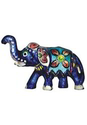 Meena Item Elephant Statue