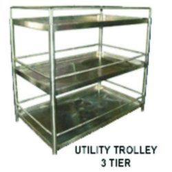 Utility Trolley 3 Tier