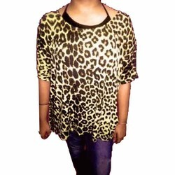 Cotton Jersey Allover Printed