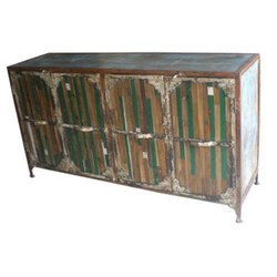 Iron Frame Side Board