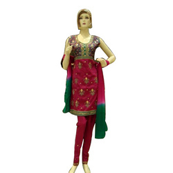 Bhagal Puri Silk Suit