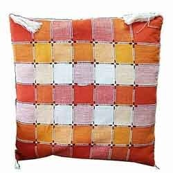 Cushions In Orange White