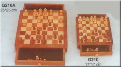 Folding Chess Set With Coins