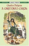 A Christmas Carol( Series - Dover Large Print Classics )