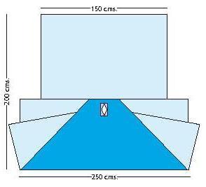 ceiling drape rentals nc