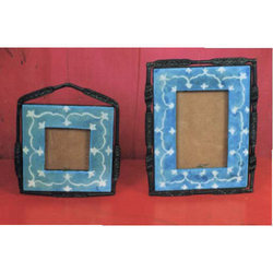 Blue Pottery Frame