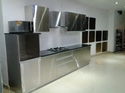 Stainless Steel Modular Kitchen Vanity Wardrobes