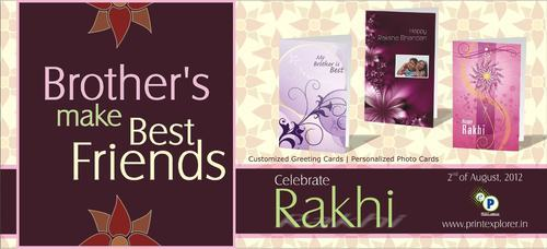 Personalised Raksha Bandhan Cards