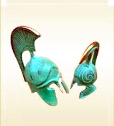 Brass Corinthian Helmet-Mini