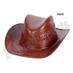 Cowboy Leather Hat ( Product Code: Ht002-P325)