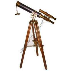 Brass Telescope With Stand