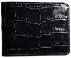 CROCO Leather Wallet