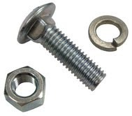 Mushroom Head Square Neck Bolts / Carriage Bolts