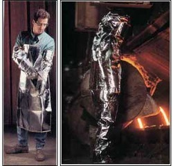 Aluminised Glass Fibre Proximity Suit