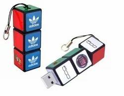 Customized USB Flash Drive, Logo Pen Drive
