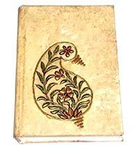 Painted Cover Note Book
