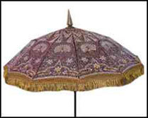 Embroidered Wedding Umbrella