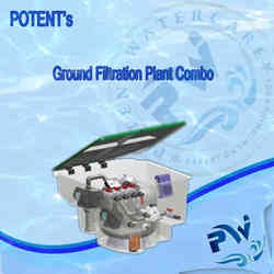 Swimming Pool In- Ground Filtration Plant Combo