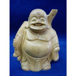 Indian Figure Laughing Buddha Statue