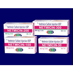 Netilmicin Sulfate Injection USP 50, 100, 200 and 300 mg