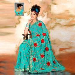 Georgette Fancy Sarees