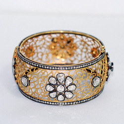 Diamond Filigree Bangle Jewelry