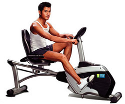 Fashion Semi Commercial Recumbent Exercise Bike