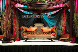Asian Wedding New Designer Sofa Set