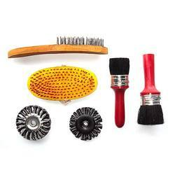 Brushes for Tyre Retreading Shop