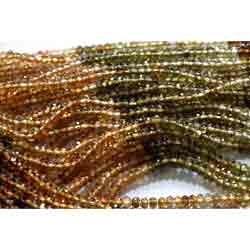 Petrol Tourmaline Beads