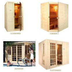 Custom Built Sauna Room & Colour Therapy System