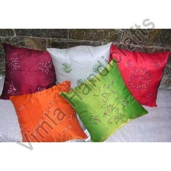 Light Embroidery Cushion Covers