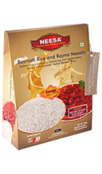 Ready To Eat Neesa Basmati Rice & Rajma Masala