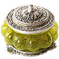 bewitching beauty metal jewelry boxes