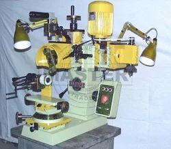 Universal Two Head Diamond Faceting Machine