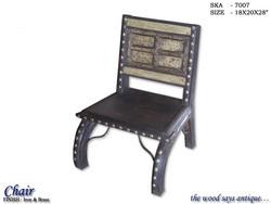 Wooden Iron Chair