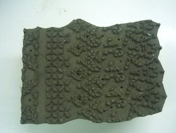 Old And Used Wooden Textile Printing Blocks