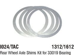 I024/TAC Rear Wheel Axle