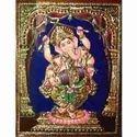 Gold Varakh In Ganesha Paintings