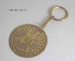 World Time Keyring