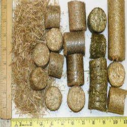 Grass Briquettes