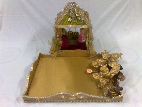 Indian wedding tray mumbai maharashtra india id 1942105873 for Aana decoration decorative tray