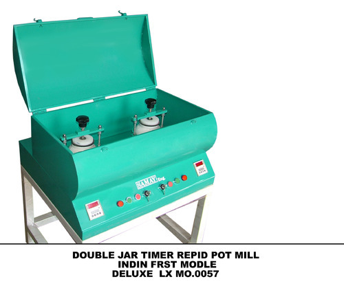 Double Jar Timer Rapid Pot Mills