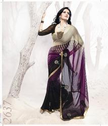 Designer Sequin Saree