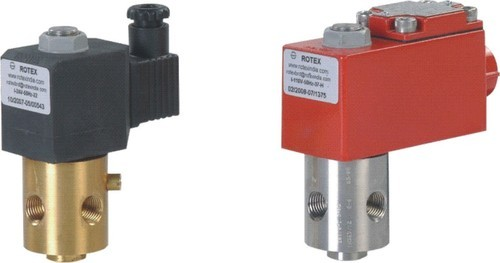 Solenoid Valve With All Ports In Body