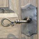 Wrought Iron Door Handles
