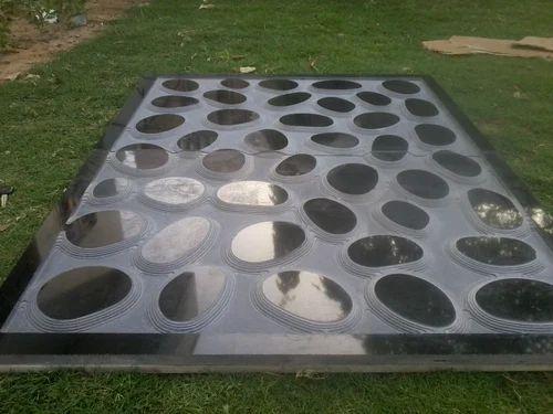 3d Granite Ring Wall Panel